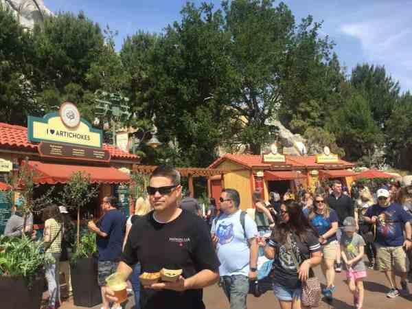 California Adventure Food & Wine Festival.