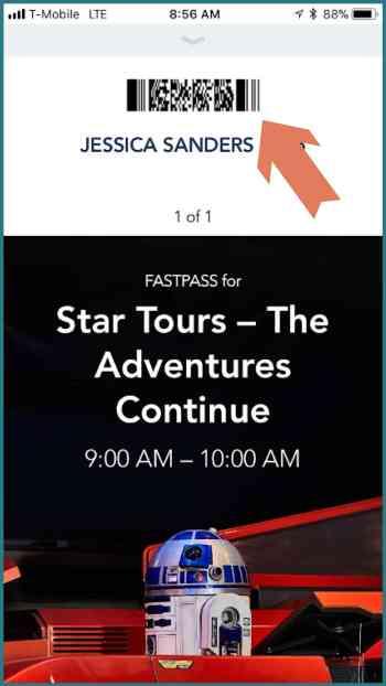Disney MaxPass Star Tours