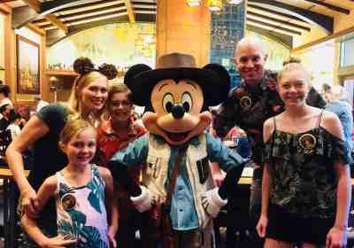 Mickey's Breakfast at Disneyland