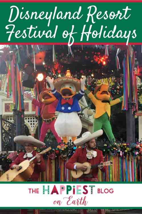 Disneyland Resort Festival of Holidays at Disney California Adventure Park includes lively entertainment featuring The Three Caballeros, live music and dancers. Here's how to get front row seats to this festive holiday event.