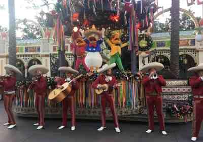 Don't miss Disney ¡Viva Navidad! Street Party