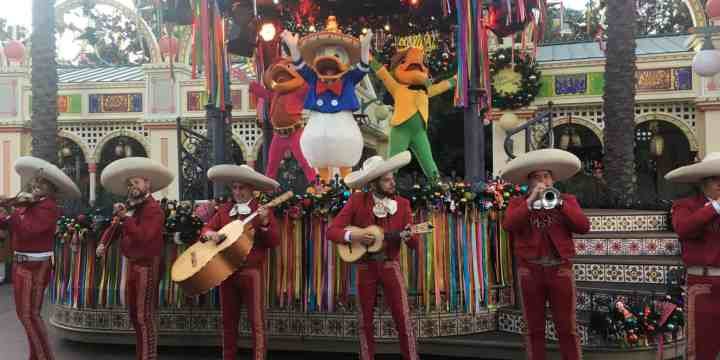 Don't miss Disney ¡Viva Navidad! Street Party