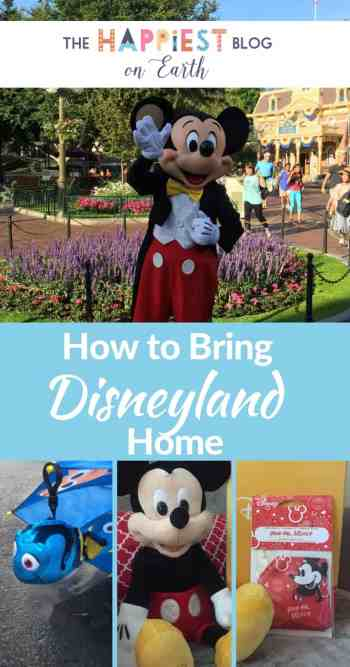 How to bring Disneyland home