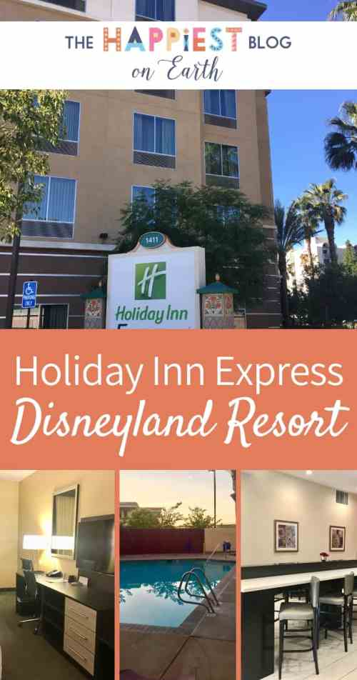 Holiday Inn Express, your go-to Disneyland in Anaheim, California. Read my review on why I recommend this walking distance Disneyland hotel for large families.