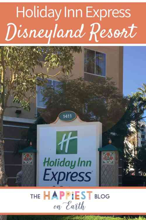 Holiday Inn Express, your go-to Disneyland in Anaheim, California. Read my review on why I recommend this hotel for large families.