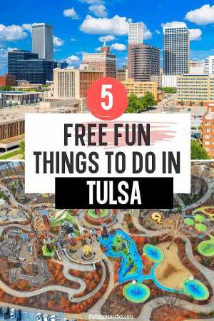 downtown tulsa and gathering place park