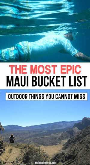 snorkeling in maui and hiking halemau'u trail overlook