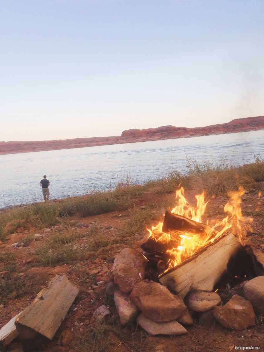 tent-camping-for-beginners-at-lake-powell
