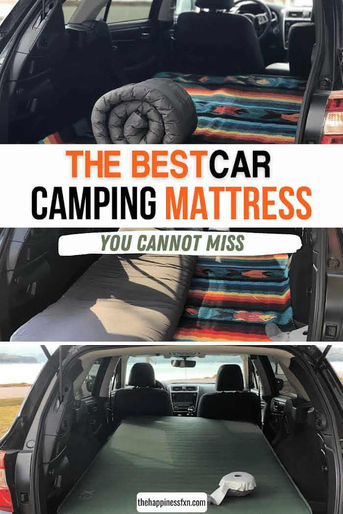 blow up mattress for car camping