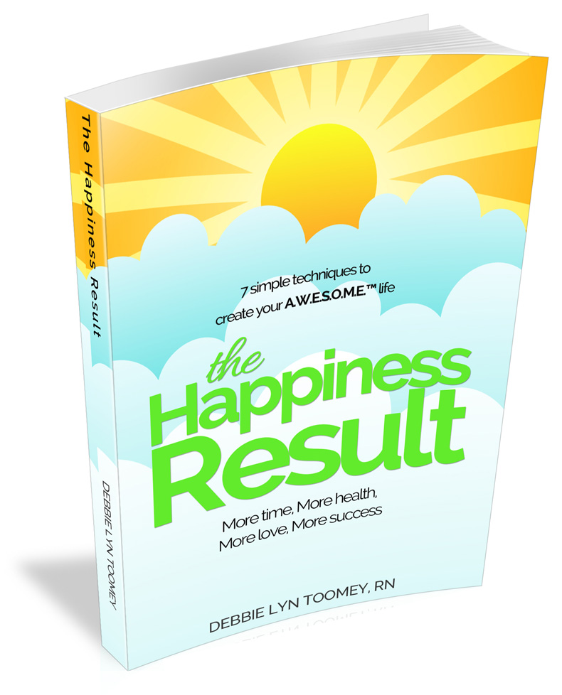 the happiness result book by debbie lyn toomey