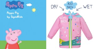 Win a Colour Changing Peppa Pig Jacket by SquidKids