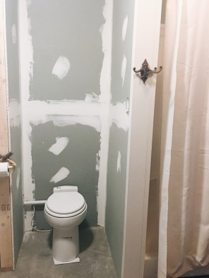 drywall, mud and tape