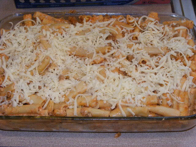 Baked Ziti at The Happy Housewife