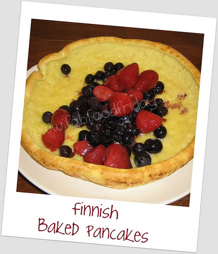 Finnish Baked Pancakes and Crepes at The Happy Housewife