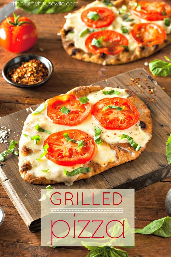 Grilling pizza is my favorite way to make pizza! It tastes just like coal fired pizza even on a gas grill. There are some secrets to making perfect grilled pizza so make sure you read my tips before attempting it yourself.