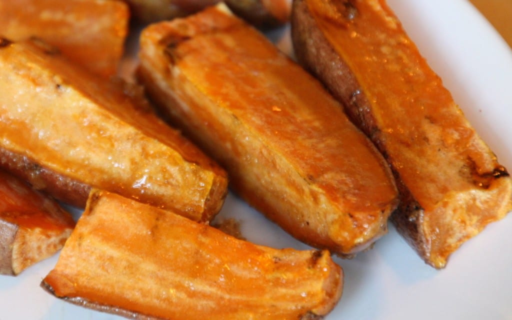 Grilled Sweet Potatoes at The Happy Housewife