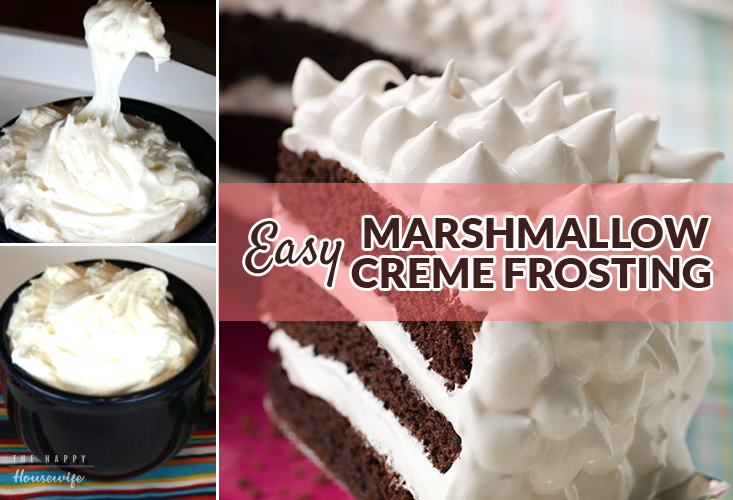 Easy Marshmallow Creme Frosting