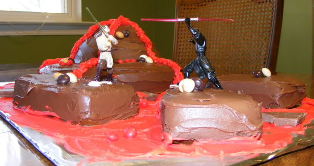 Excellent Star Wars Cake The Happy Housewife Cooking Funny Birthday Cards Online Eattedamsfinfo