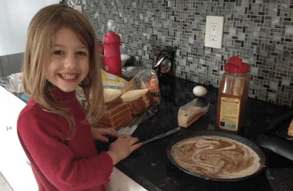 cora making breakfast meal plan
