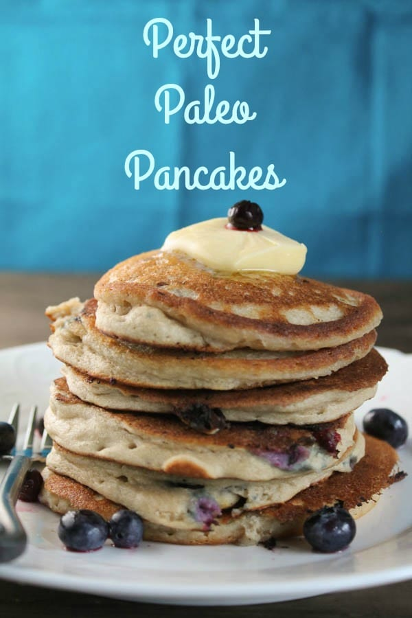 These Perfect Paleo Pancakes are a nutrient dense, grain-free alternative with healthy fats and protein to offer my kiddos as a nourishing school send-off.