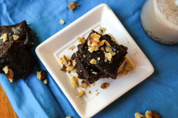 Easy to throw together and totally delicious, your kids don't need to know that these no-bake paleo brownies are good for them! They are a quick solution for any snack time.