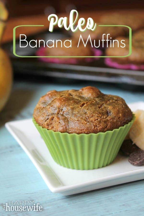 These hearty Paleo Banana Muffins could also be called Elvis Muffins to celebrate the King of Soul's favorite combination: bananas and peanut butter. And any nut or seed butter will work in this recipe.