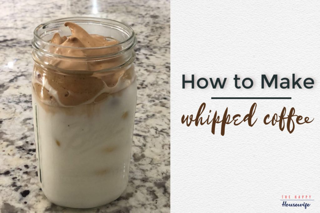 how to make whipped coffee