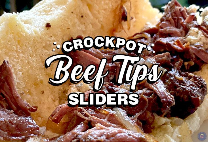 crockpot beef tips sliders