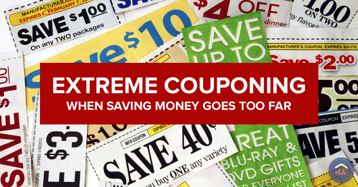 Extreme Couponing When Saving Money Goes Too Far The Happy Housewife Frugal Living