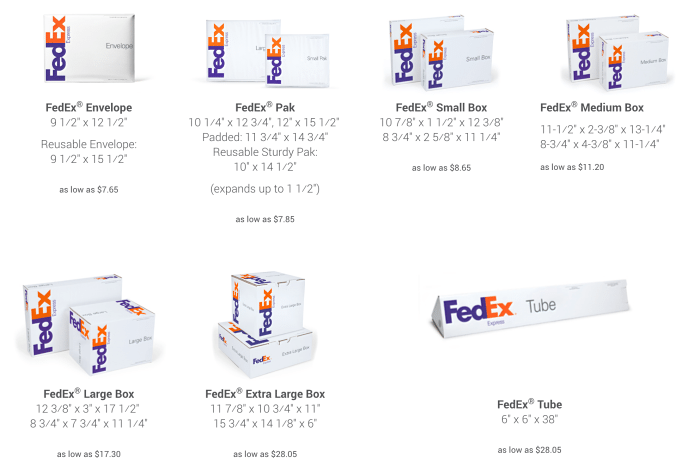FedEx flat rate shipping, what is the cheapest way to mail packages