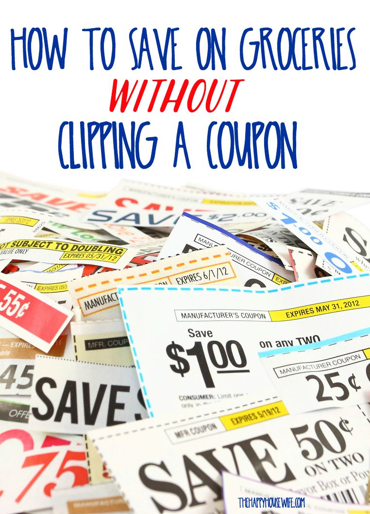 How To Save Money On Groceries Without Coupons The Happy Housewife Frugal Living