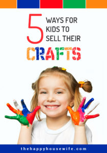 Helping your child start a small business is a great way to teach them about money and the value of a dollar. One great option for helping kids earn their own money is to help them make and sell crafts.