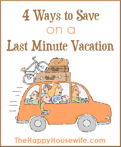 4 Ways to Save on a Vacation
