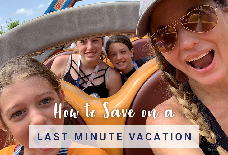 How to Save on Last Minute Vacations