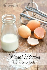 Frugal Baking Tips & Shortcuts