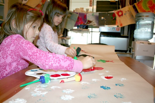 Paint-Your-Own-Christmas-Wrapping-Paper