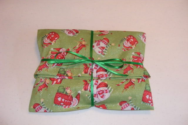 easy fabric gift bags frugal gift wrap