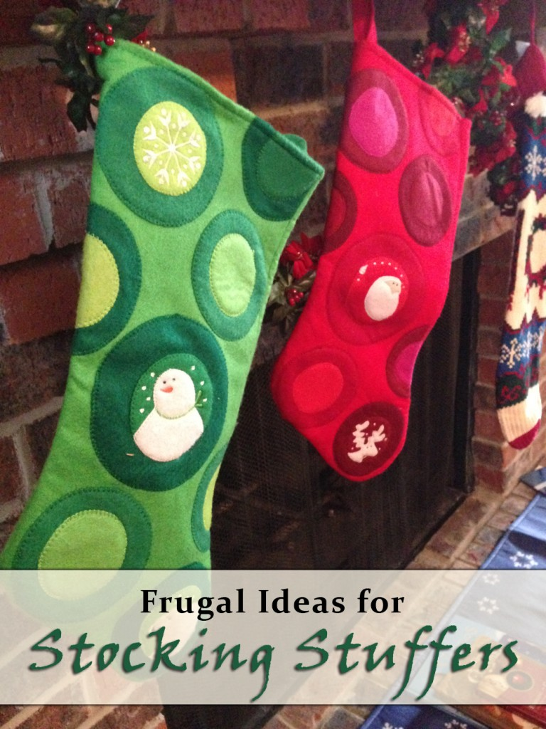 Frugal Stocking Stuffer Ideas | The Happy Housewife