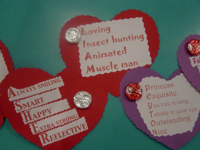 acrostic poem craft