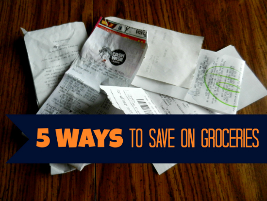 5 Ways to Save on Groceries | The Happy Housewife