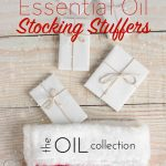 Essential oil stocking stuffer ideas for under $20.