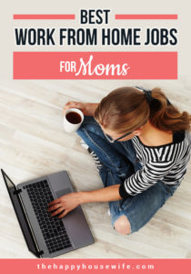 Best work from home jobs for moms
