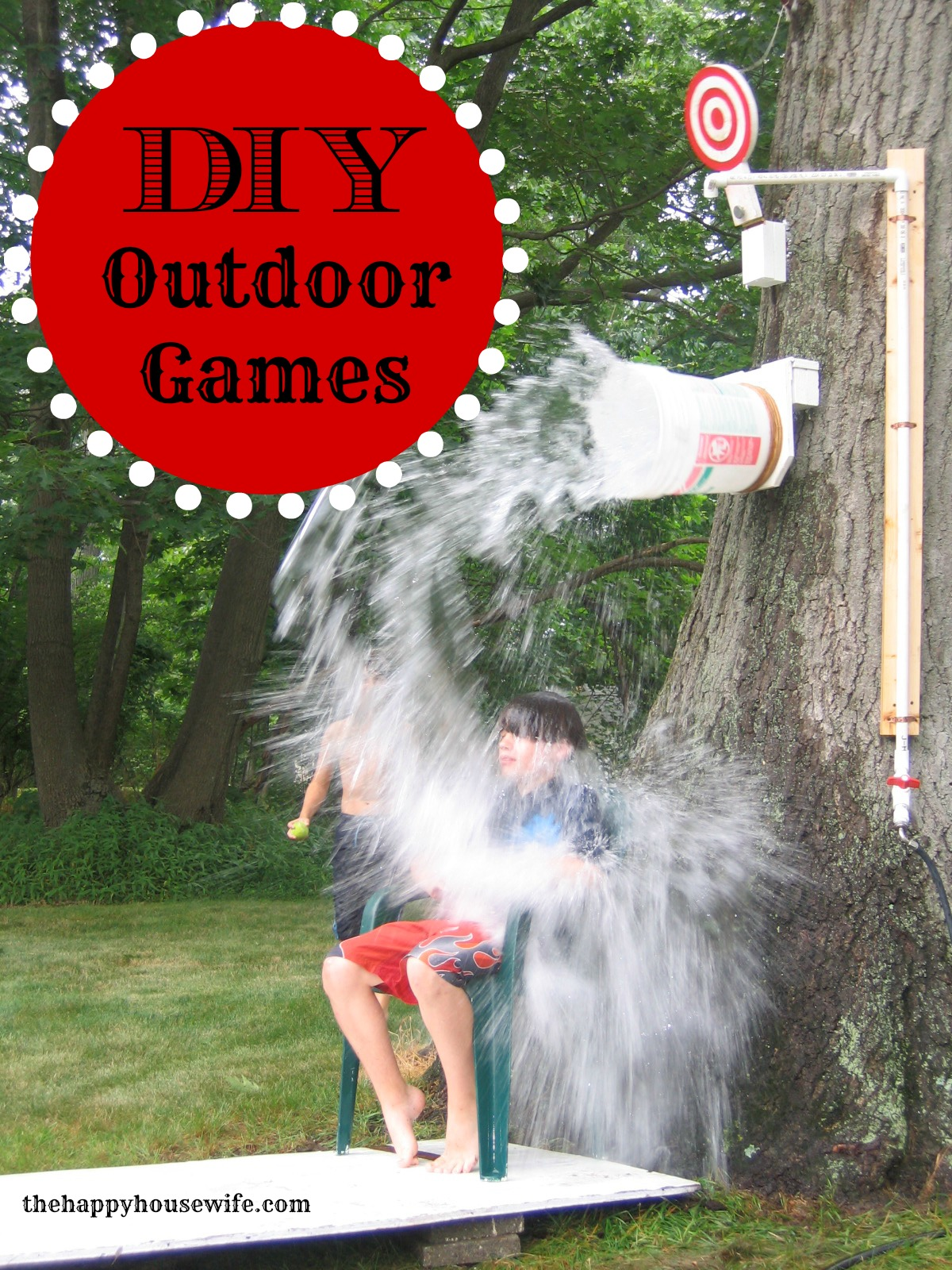 Diy Outdoor Games The Happy Housewife Home Management