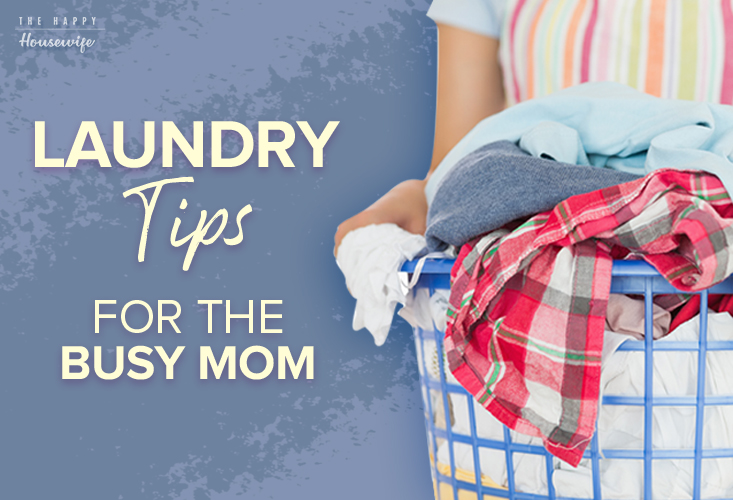 Laundry Tips for the Busy Mom