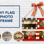 DIY Flag Photo Frame