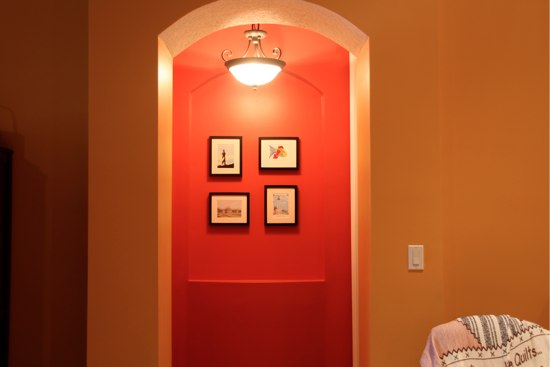 Appropriate Picture Size for Walls - The Happy Housewife