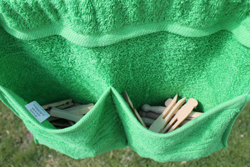 How to Make a Clothespin Bag - The Happy Housewife™ :: Home