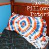 Tie-Dye Pillowcase