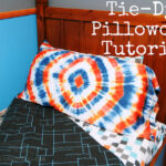 Tie-Dye Pillowcase