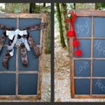 Window Frame Chalkboards
